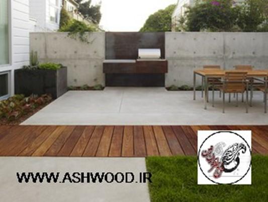 استفاده از چوب و مصالح طبیعی در ساختمان