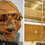 The replica of cardboard