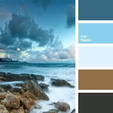 پالت آبی , سیاه و آبی برای ما الهام بخش خلاق است