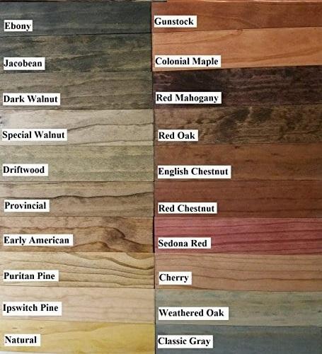 انواع رنگ چوب طبیعی , سمپل رنگ , روغن گیاهی چوب و رنگهای طبیعی