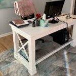 میز تحریر چوبی , میز کار