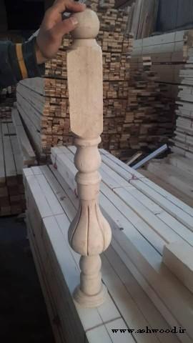 نرده چوبی