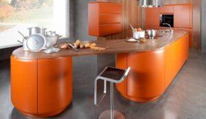 رنگ نارنجی در دکوراسیون داخلی و دکوراسیون چوبی منزل