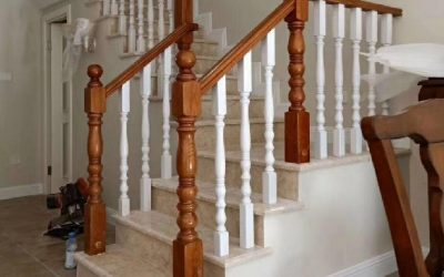 ایده برتر نرده راه پله چوبی – طراحی راه پله داخلی