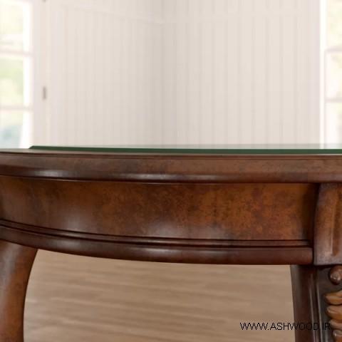 میز کنسول و میز پذیرایی با منبت ظریف