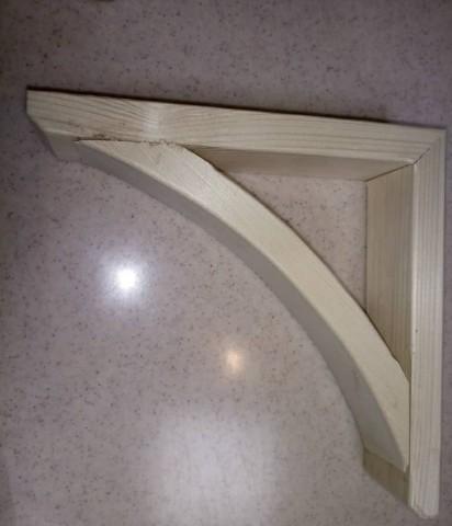 گونیا چوبی , نگهدارنده شلف و طبقه