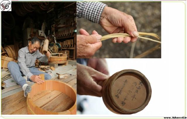 ساخت سطل چوبی٬ سطل چوبی٬ بطری های چوبی و بشکه