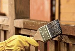 فرایند رنگ زدن چوب
