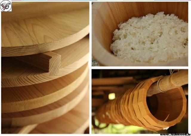 ساخت سطل چوبی ژاپنی