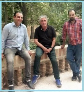 فن و هنر ایران زمین , استاد رضا کیانیان