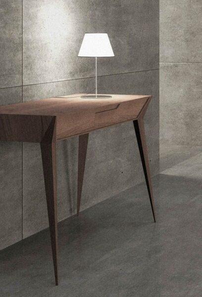 میزهای کنسول چوبی با طرح های مدرن و ساده