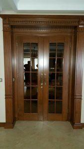 درب چوبی , چوب کاج روسی