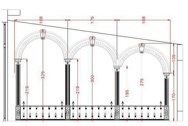ستون و سر ستون در دکوراسیون کلاسیک چوبی