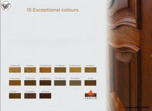 کاتالوگ درب چوبی