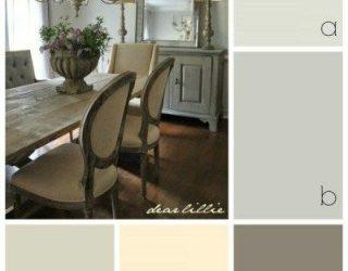 رنگ ها در فضاهای داخلی روستیک
