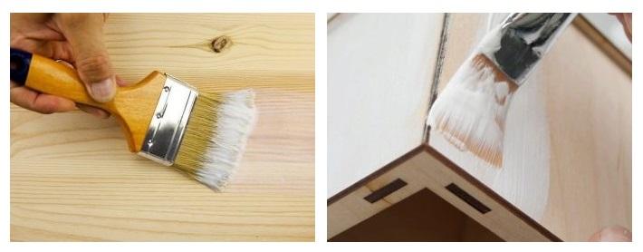 افزایش مقاومت و عمر چوب