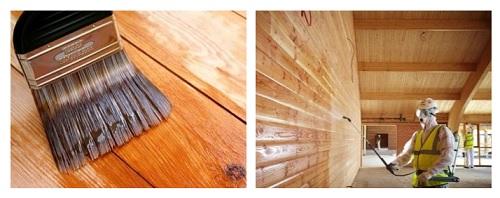 مقاوم سازی چوب در نمای ساختمان یا محیط های مرطوب