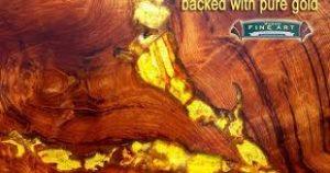 رنگ کهربایی در تزئینات چوبی