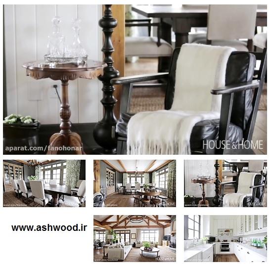 طراحی داخلی – خانه ای پیشرفته با دکور سنتی