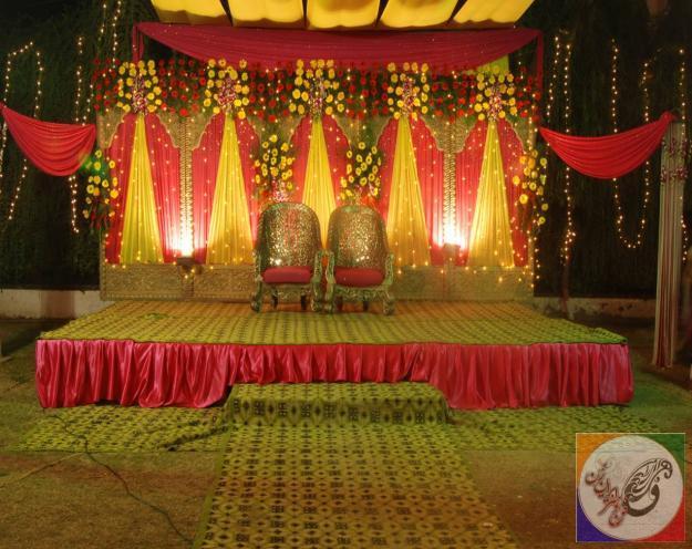 دکوراسیون روز عروسی ، عکس تالار عروسی