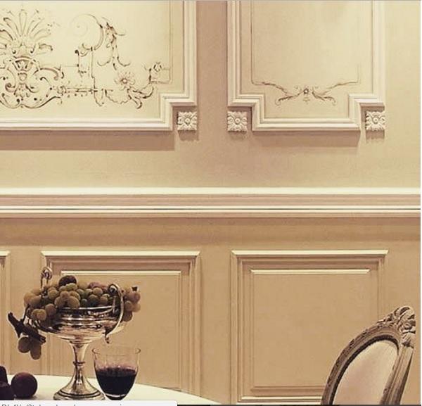 ایده های جالب و بروز کلاسیک در دکوراسیون داخلی دیوار پوش , دیوارکوب