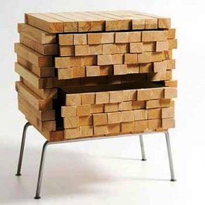 کمد چوبی جنگلی