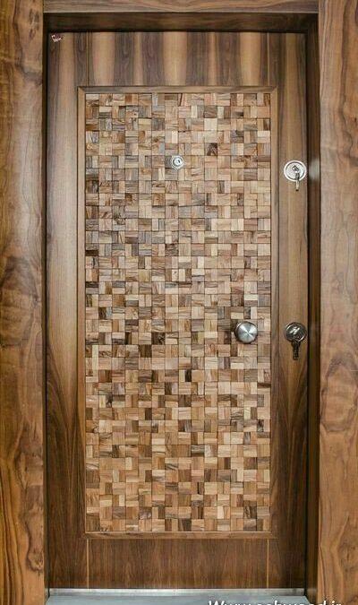 درب های چوبی هزار تکه