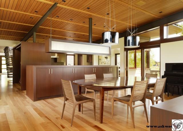 بهترین تصاویر و ایده های طراحی دکوراسیون داخلی با چوب