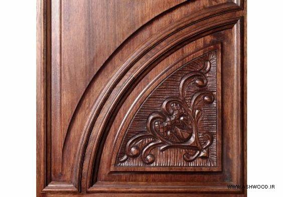 درب منبت و حکاکی شده زیبا و خاص, ساخت درب چوبی سفارشی