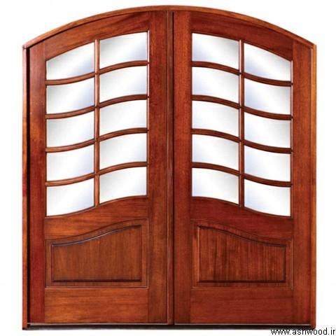 جدید ترین مدل درب چوبی، ایده و مدل برای ساخت درب چوبی