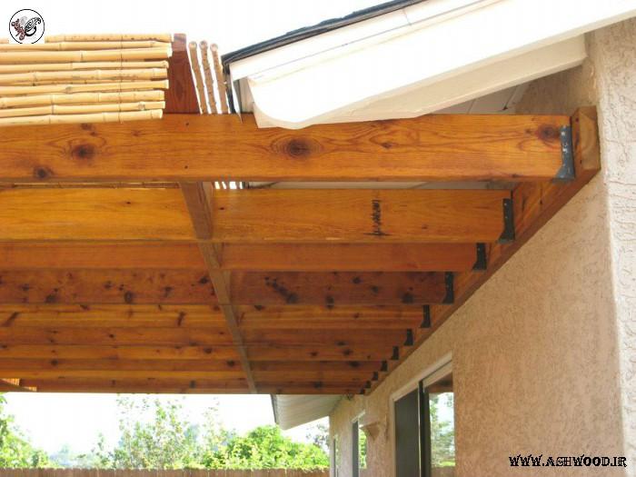 سقف الوار چوبی