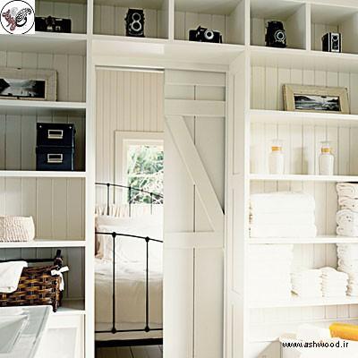 درب های کشویی داخلی مخفی