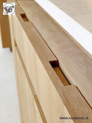 دستگیره چوبی