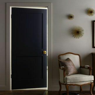 درب اداری ، درب چوبی برای دفتر کار , اول درب های ساده چوب و mdf