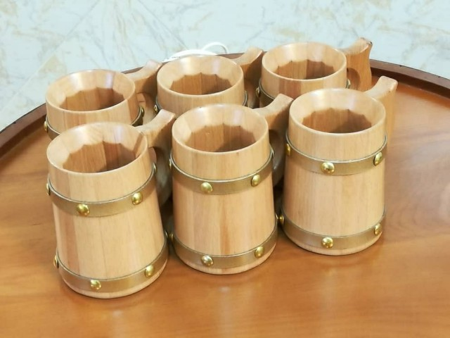 سفارش ساخت بشکه بار چوب راش , لیوان و بشکه 25 لیتری چوب بلوط