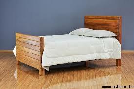 تخت خواب تمام چوب ارزان قیمت