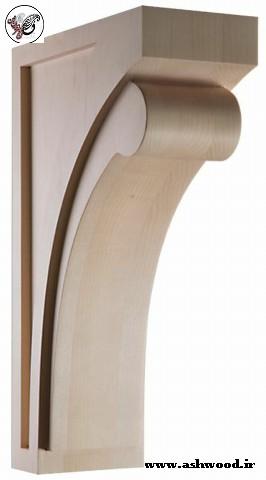 سایبان درب ورودی , انواع سردرب و تاج برای درب ورودی ساختمان سایبان٬ ایده درب ورودی , سردرب منزل , براکت و چوب زیر ستون ورودی
