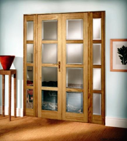 درب چوبی مدل جدید