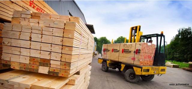خرید چوب روسی خشک در تهران