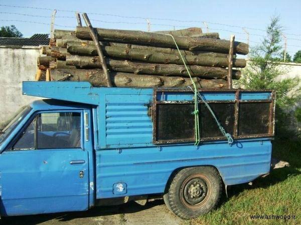 کشف و ضبط ۳۹ تن قطعات چوب درختان جنگلی در طارم