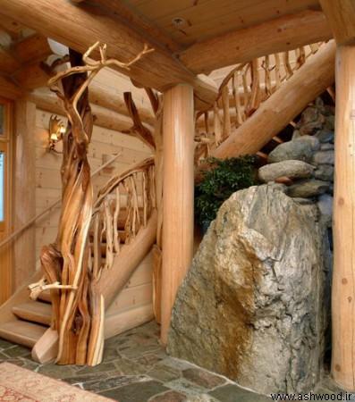 مدل های خلاقانه پله چوبی 2019