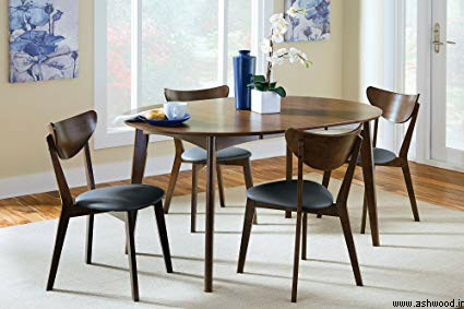 میز ناهارخوری چوبی , میز گرد