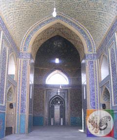 مسجد جامع یزد؛ یزد؛ عکس از آنوبانینی