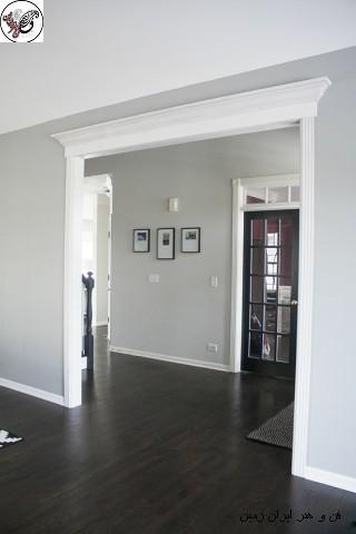 مدل چارچوب و قاب درب چوبی , چهارچوب درب از چوب - قاب درب چوبی - چارچوب درب اتاقی چهارچوب چوبی و روکوب درب