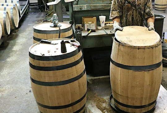 آموزش ساخت بشکه چوبی , تولید بشکه چوب بلوط