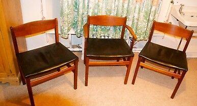 صندلی چوب راش رنگ عسلی تیره