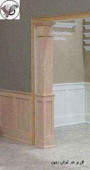 مدل چهارچوب و قاب درب چوبی