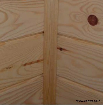فتیله چوبی و نبشی چوبی در دکوراسیون چوبی
