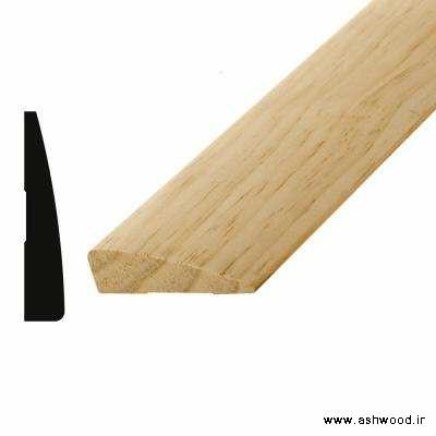 فتیله چوبی و نبشی چوبی در دکوراسیون چوبی بسیار جالب و زیبا