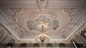 مبلمان لوکس و کلاسیکی که در طراحی داخلی